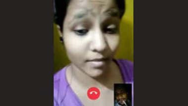 Desi Girl On Video Call