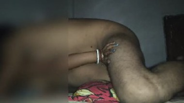 Newly married wife anal sex