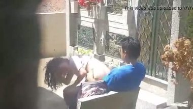Indian teen outdoor sex with cousin