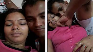 Horny Desi guy worships partner's XXX nipples before chudai begins