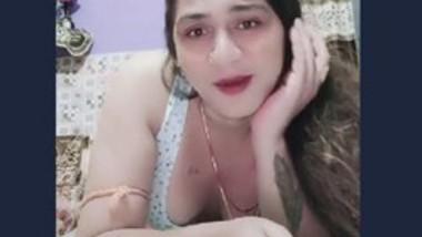 Indian bhabi Tiktok video-3