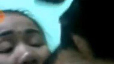 Shameless Desi whore undresses and masturbates during the video call