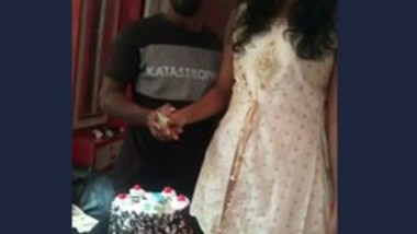 Mallu Boyfriend Birthday Party With 2 Girls -3