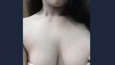 Sexy girl hot boob show