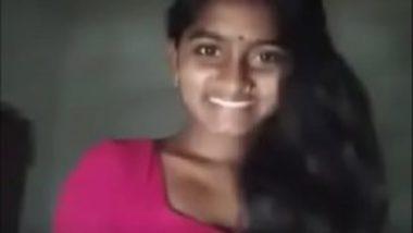 Village telugu wife showing off puku on cam