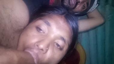 Tribal adivasi blowjob sex video from India
