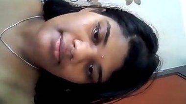 Attractive Desi sexpot films special solo XXX video for her friend