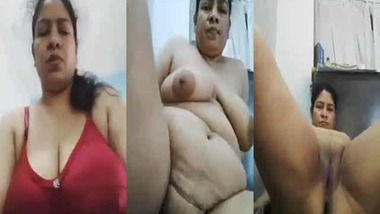 BBW milk tanker Indian wife gets naughty on cam