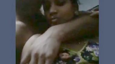 Desi couple romance in room