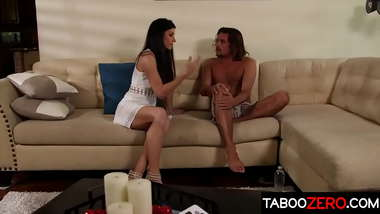 Attractive stepmom been longing for some hot sex with son of her best friend