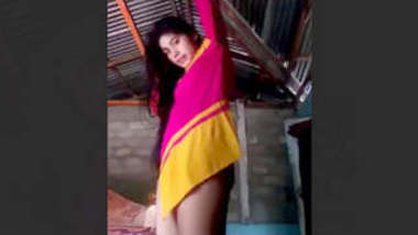 Beautiful Village Girl Make Video For Lover