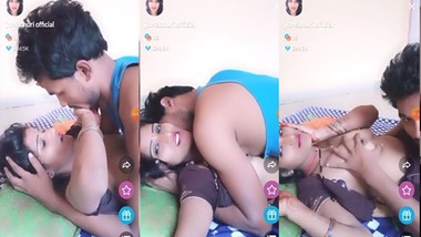 Cute Dehati couple Tango sex show