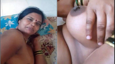 It's not easy but Desi guy holds camera playing sex games with XXX GF