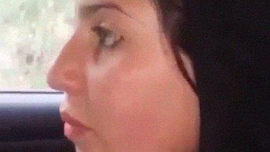 Beautiful Pathani GF Blowjob sex inside car video