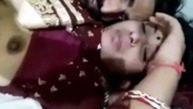 North Indian couple majedar romantic lovemaking