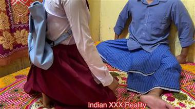 School teacher ki girl student se Hindi audio xxx video