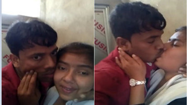Couple from India makes people jealous of them kissing on camera
