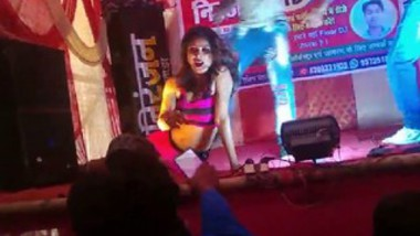 Desi girl very hot stage show