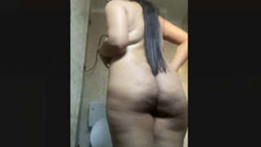 Indian Hot maal bathing 2 clips part 1