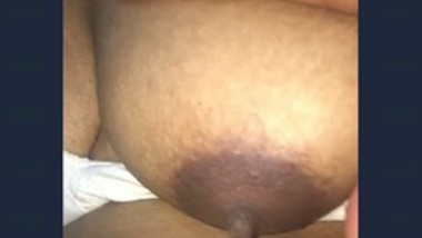 Desi Wife Boob Squeezing by Bf