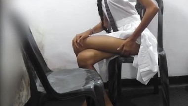 school girl showing her pussy and redy to fuck with stranger
