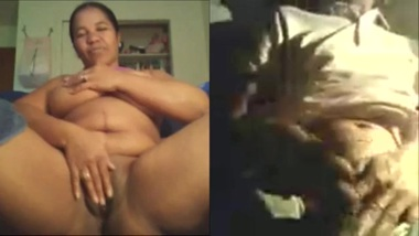 Thick Punjabi Aunty so excited to take huge...