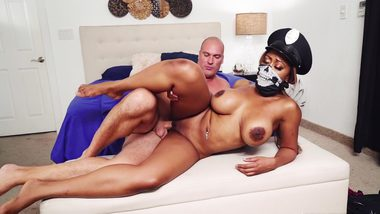 Bootylicious Cop Black Lady [ Moriah Mills ] Fucked Hard By A Criminal