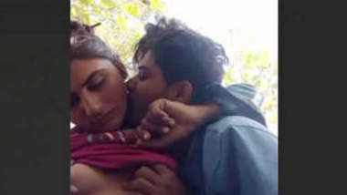 Indian Village Horny couple outdoor fucking