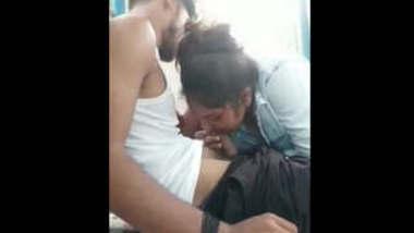 Indian Hot Cute College girl blowjob