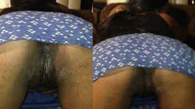 Doggystyle sex position lets Indian cameraguy film girl's XXX slit
