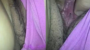 Man finds Indian MILF sleeping and pulls panties aside filming porn on camera