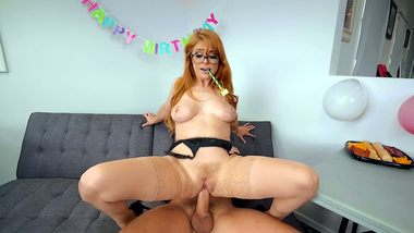 Mom Penny Pax allows young man to bonk sex hole at XXX birthday party