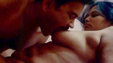 Married couple hot boob sucking and sex