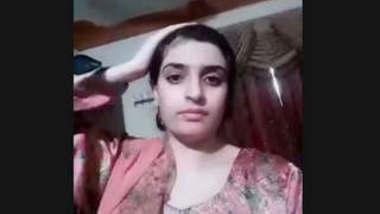 Beautiful Paki Wife New Selfie Clip