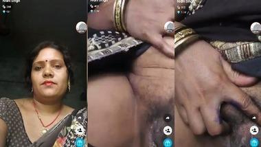 Nidhi Bhabhi hot live pussy show