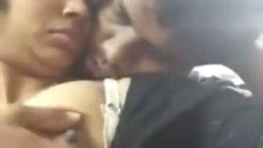 Hindi amateur sex of Chirala hot girl's boobs fondled mms