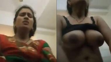 Desi Bhabi moaning hard while riding dick