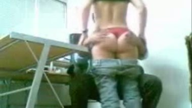 Indian porn video of busty girl office sex with boss