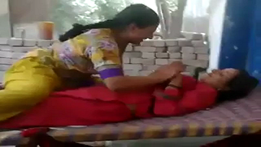 Punjabi lesbian aunties get naughty while voyeur records!