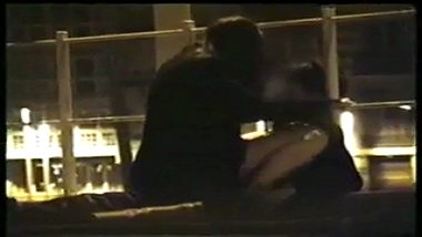 Hidden cam records Pune couple fucking on terrace!