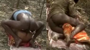 Dehati Randi chudai outdoors sex MMS