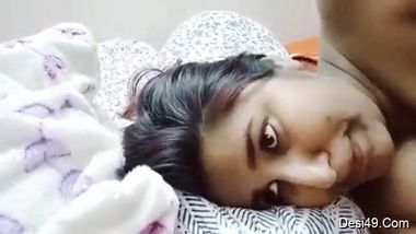 Pretty Desi female wakes up with the idea of filming XXX video