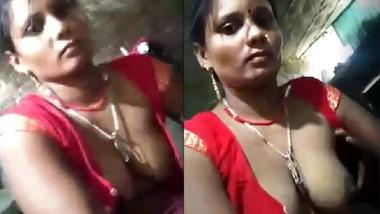 Dehati wife riding dick of Devar