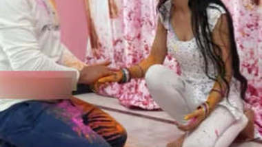desi xclusive couples priya bhabhi celebrating holi