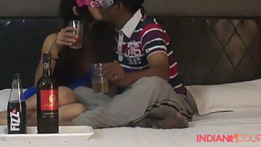 Indian girl gets drunken and allows lovelace to touch XXX pussy