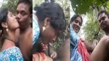 Dehati neighbor wife secret sex outdoors