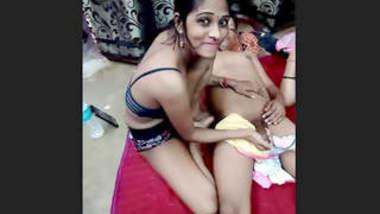 Desi Bhabhi Boobs Sucking and Pussy Rubbing